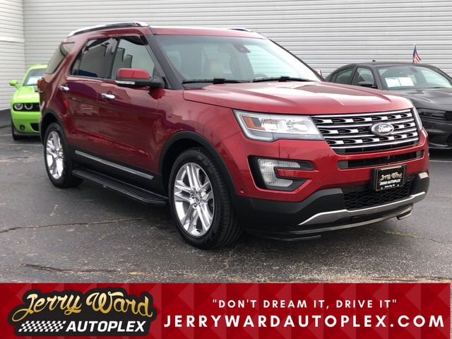 Pre-Owned 2016 Ford Explorer 4WD Limited