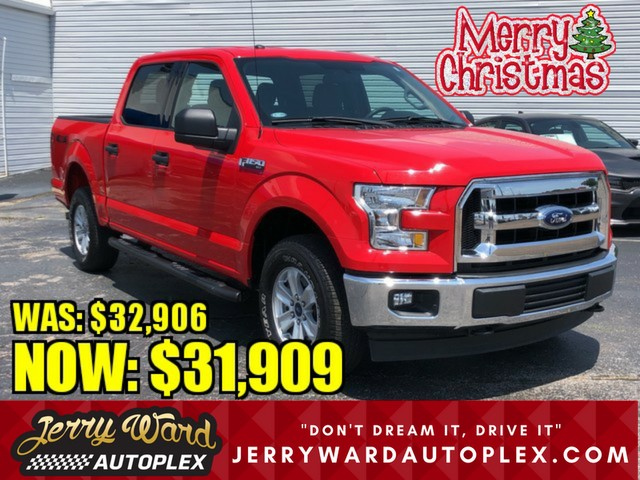 Pre-Owned 2017 Ford F-150 SuperCrew 4WD XLT