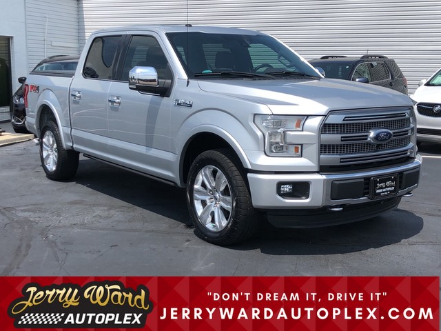 Pre-Owned 2016 Ford F-150 SuperCrew 4WD Platinum