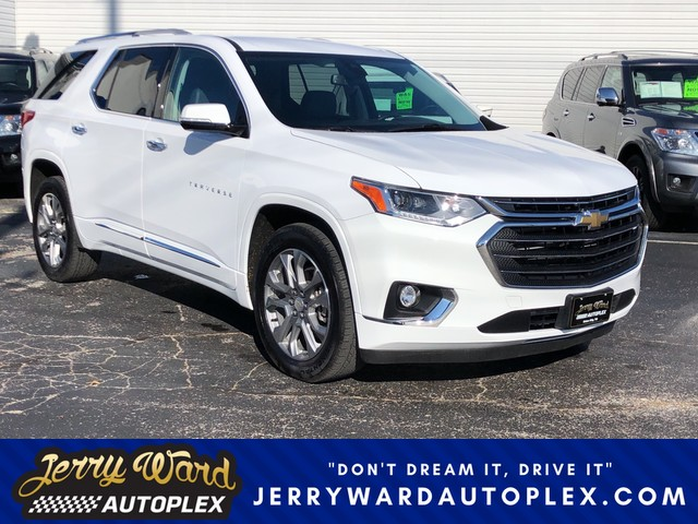 Pre-Owned 2018 Chevrolet Traverse AWD Premier