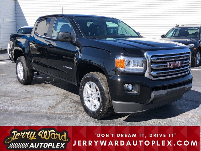 Pre-Owned 2019 GMC Canyon Crew Cab 4WD SLE