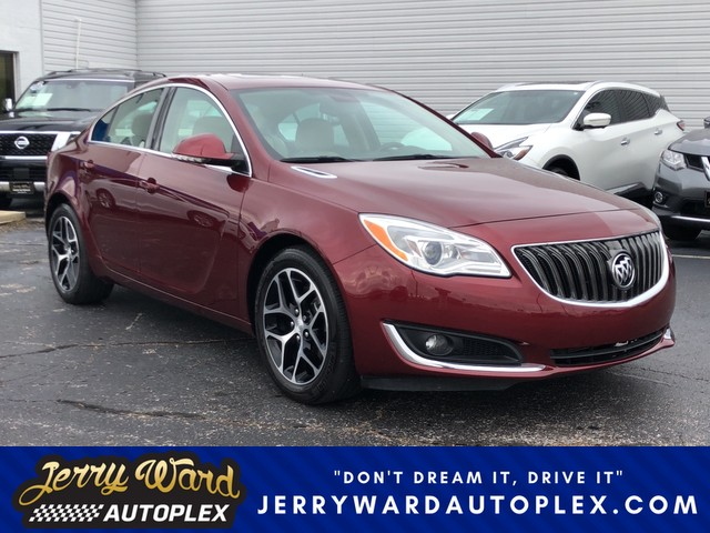 pre owned 2017 buick regal sport touring sedan in union city 18341 jerry ward autoplex. Black Bedroom Furniture Sets. Home Design Ideas