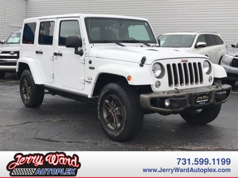 Pre-Owned 2016 Jeep Wrangler Unlimited 4WD 75th Anniversary-- Questions? Cell/Text 24/7 @ 731-335-4854 With Navigation