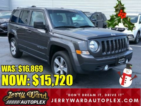 Pre-Owned 2016 Jeep Patriot 4WD High Altitude Edition
