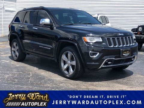 Pre-Owned 2015 Jeep Grand Cherokee 4WD Overland Four Wheel Drive SUV