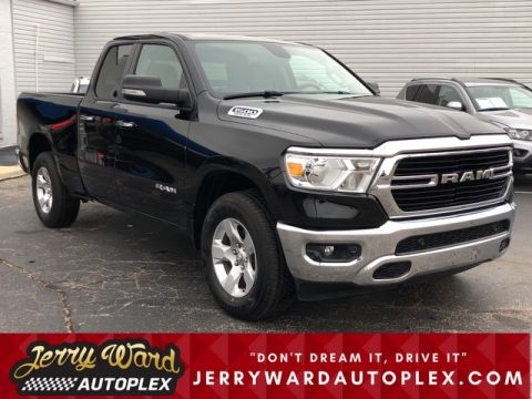 Pre-Owned 2019 Ram 1500 Quad Cab 4WD Big Horn