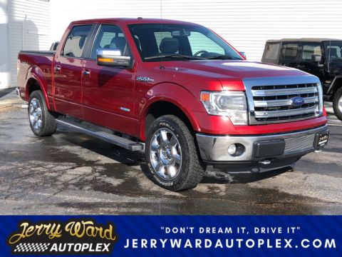 Pre-Owned 2013 Ford F-150 SuperCrew 4WD Lariat-- Questions? Cell/Text 24/7 @ 731-335-4854 With Navigation