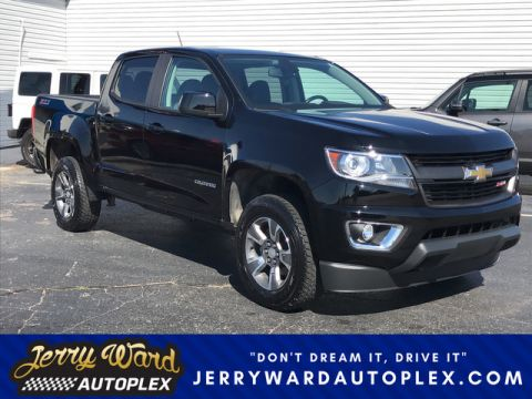 Pre-Owned 2015 Chevrolet Colorado Crew Cab 4WD Z71-- Questions? Cell/Text 24/7 @ 731-335-4854 Four Wheel Drive Pickup Truck