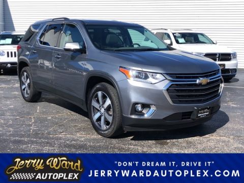 Pre-Owned 2018 Chevrolet Traverse FWD 3LT Leather