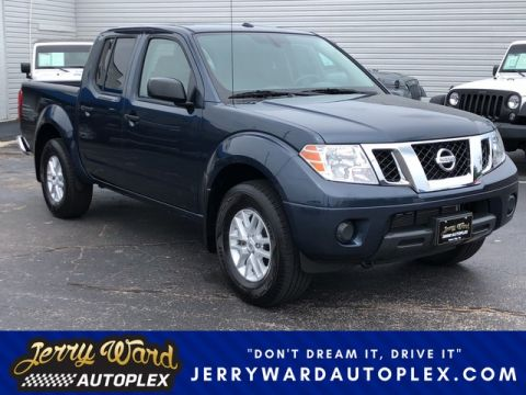 Pre-Owned 2018 Nissan Frontier Crew Cab 4WD SV V6 Four Wheel Drive Pickup Truck