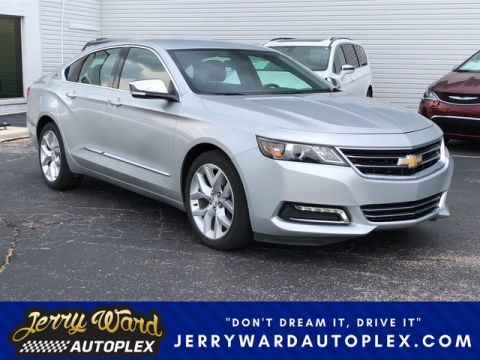 Pre-Owned 2018 Chevrolet Impala Premier Front Wheel Drive Sedan