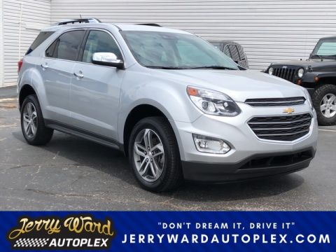 Pre-Owned 2016 Chevrolet Equinox FWD LTZ With Navigation