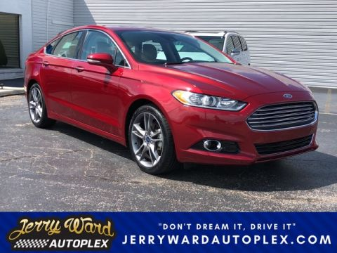 Pre-Owned 2015 Ford Fusion Titanium Front Wheel Drive Sedan