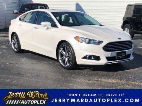Pre-Owned 2015 Ford Fusion FWD Titanium-- Questions? Cell/Text 24/7 @ 731-335-4854 Front Wheel Drive Sedan