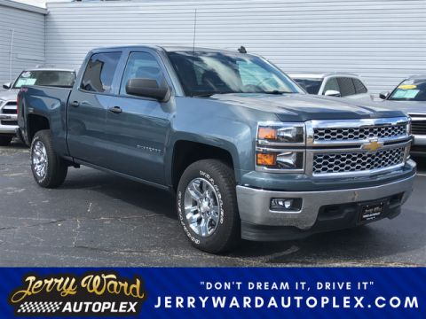 Pre-Owned 2014 Chevrolet Silverado Crew Cab 4WD LT-- Questions? Cell/Text 24/7 @ 731-335-4854 Four Wheel Drive Pickup Truck
