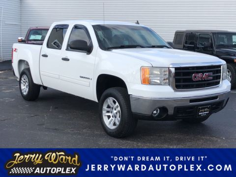 Pre-Owned 2009 GMC Sierra Crew Cab 4WD SLE Z71 Four Wheel Drive Pickup Truck