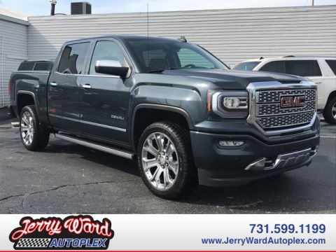 Pre-Owned 2017 GMC Sierra Crew Cab 4WD Denali Four Wheel Drive Pickup Truck
