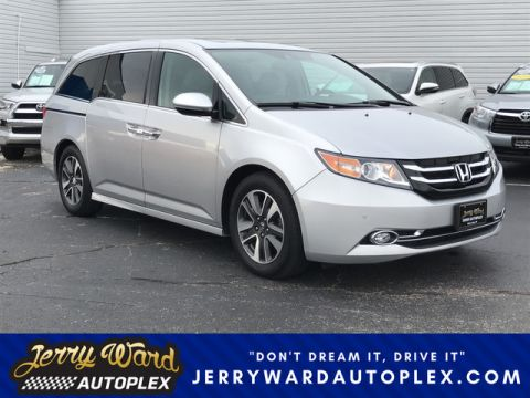 Pre-Owned 2014 Honda Odyssey Touring Elite Front Wheel Drive Minivan/Van