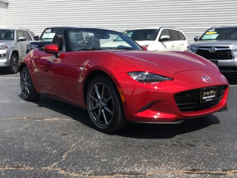 Pre-Owned 2016 Mazda MX-5 Miata Grand Touring-- Questions? Cell/Text 24/7 @ 731-335-4854 Rear Wheel Drive Convertible