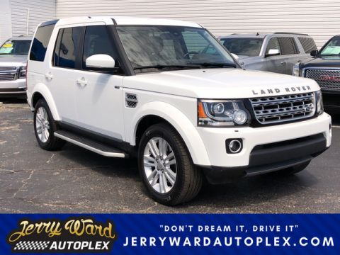 Pre-Owned 2015 Land Rover LR4 4WD LUX With Navigation