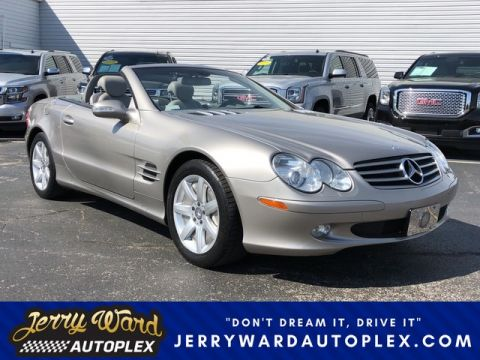 Pre-Owned 2003 Mercedes-Benz SL-Class SL500 Rear Wheel Drive Coupe